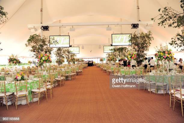 Atmosphere at 36th Annual Frederick Law Olmsted Awards Luncheon Central Park Conservancy at The Conservatory Garden in Central Park on May 2 2018 in...