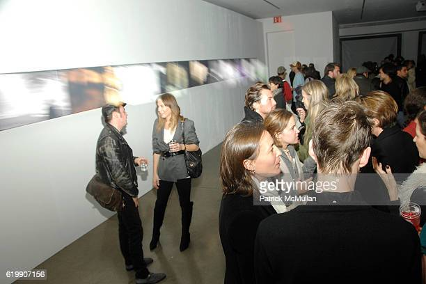 Atmosphere at A MILK GALLERY PROJECT Presents TRANSIT by ALEXI LUBOMIRSKI at Milk Gallery on October 21 2008 in New York City