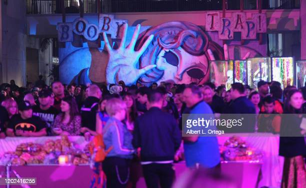 Atmosphere at A Night of Music and Mayhem in Harleywood hosted by the cast of Bird Of Prey held at Hollywood and Highland on January 23 2020 in...