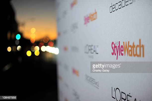 Atmosphere at 'A Night Of Red Carpet Style' hosted by People StyleWatch at Decades on January 27, 2011 in Los Angeles, California.