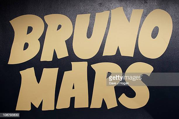 Atmosphere at a record release party for Bruno Mars' new album 'DooWops and Hooligans' released on October 4th 2010 held at Cafe De Paris on January...