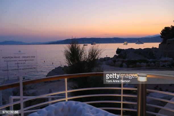 Atmosphere at a VIP dinner party hosted by iHeartMedia and MediaLink during the Cannes Lions Festival of Creativity>> at Hotel du CapEdenRoc on June...