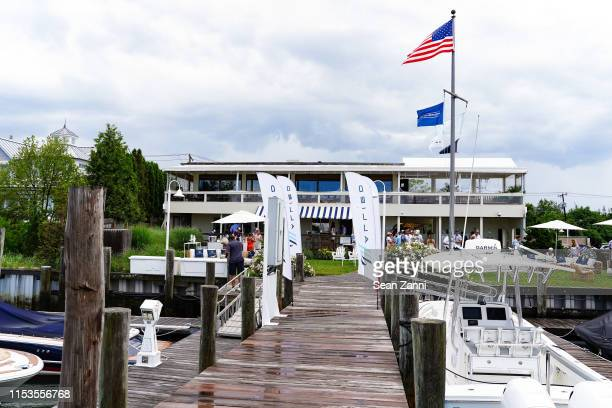Atmosphere at Allied Marine Yacht Hop In Sag Harbor at Sag Harbor Cove Marina on June 30, 2019 in Sag Harbor, NY.