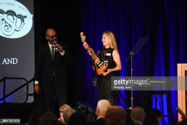 Atmosphere at ALS Golden West Chapter Hosts Champions For Care And A Cure at The Fairmont Miramar Hotel Bungalows on December 2 2017 in Santa Monica...