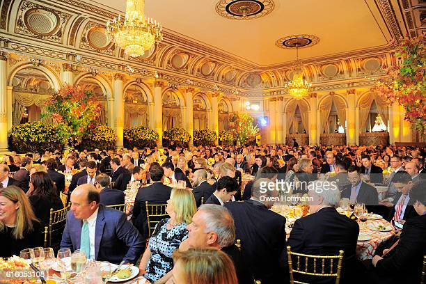 Atmosphere at An Evening Honoring Joe Namath at The Plaza Hotel on October 20 2016 in New York City