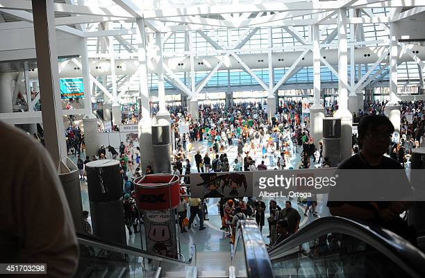 Atmosphere at Anime Expo AX2014 held at Los Angeles Convention Center on July 3 2014 in Los Angeles California