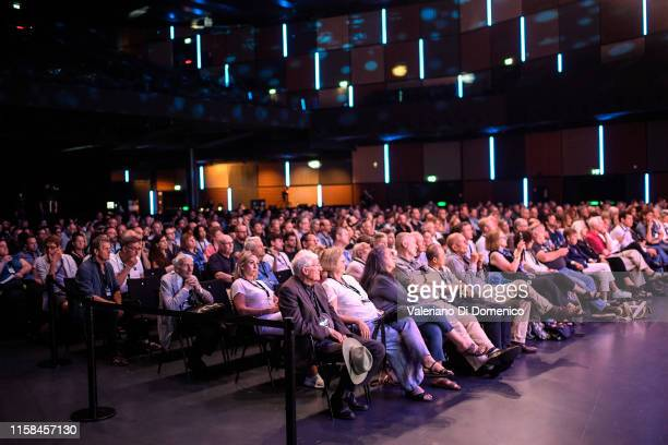 Atmosphere at attends Starmus V A Giant Leap sponsored by Kaspersky at Samsung Hall on June 26 2019 in Zurich Switzerland