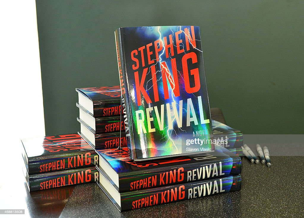 Atmosphere at author Stephen King's 'Revival' book signing at Barnes & Noble Union Square on November 11, 2014 in New York City.
