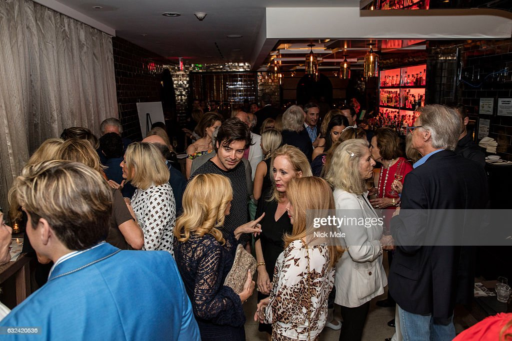 Atmosphere at AVENUE Celebrates Kara Ross and the Palm Beach A List at Meat Market Palm Beach on January 19, 2017 in Palm Beach, FL.