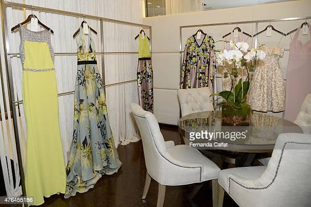 Atmosphere at Badgley Mischka Presentation-Resort 2016 at Badgley Mischka Showroom on June 9, 2015 in New York City.