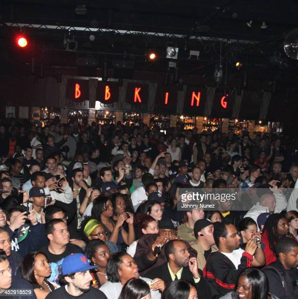 Atmosphere at BB King Blues Club Grill on November 11 2009 in New York City