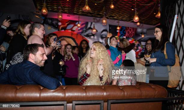 Atmosphere at BBC AMERICA's Orphan Black Premiere Party at Vandal on June 6 2017 in New York City