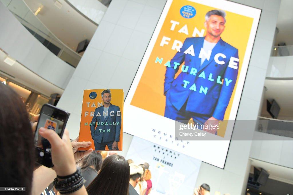 "Beverly Center x Tan France Book Event For ""Naturally Tan: A Memoir"" : News Photo"