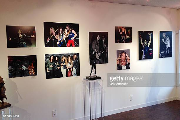Atmosphere at Blue Gallery Presents The Art Of Rock N' Roll By Larry Marano on December 15 2013 in Fort Lauderdale Florida