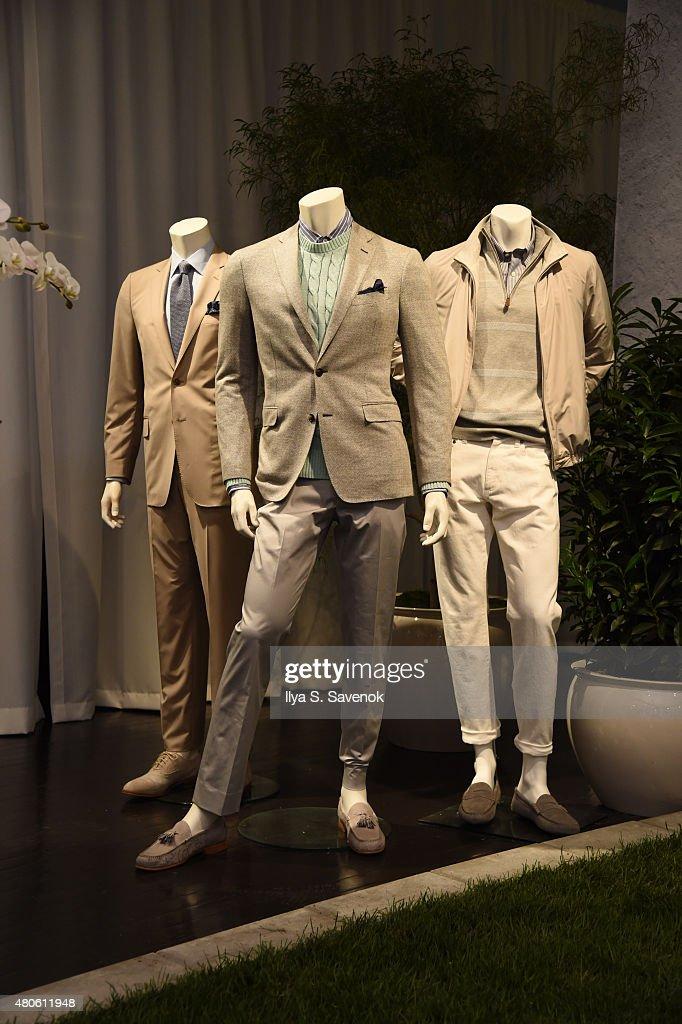 Brooks Brothers - Presentation - New York Fashion Week: Men's S/S 2016 : News Photo