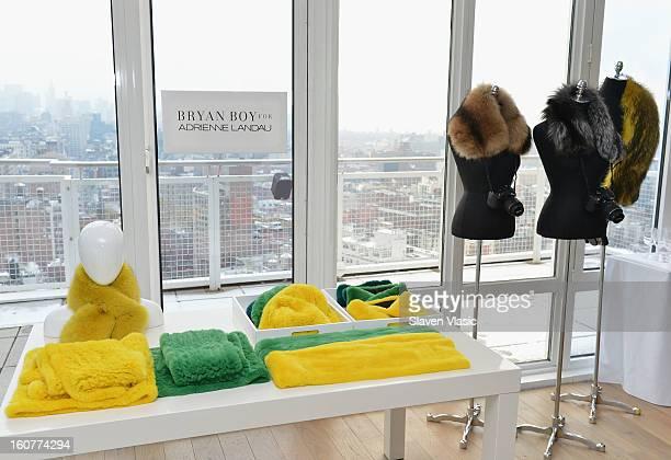 Atmosphere at Bryan Boy For Adrienne Landau Presentation Fall 2013 MercedesBenz Fashion Week at Mondrian SoHo on February 5 2013 in New York City