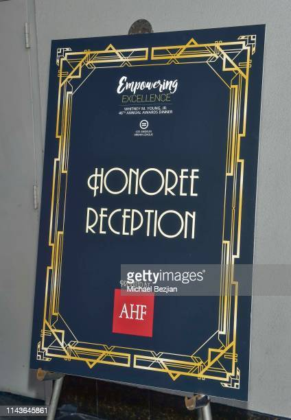 Atmosphere at Byron Allen Honored by Los Angeles Urban League on April 18 2019 in Hollywood California