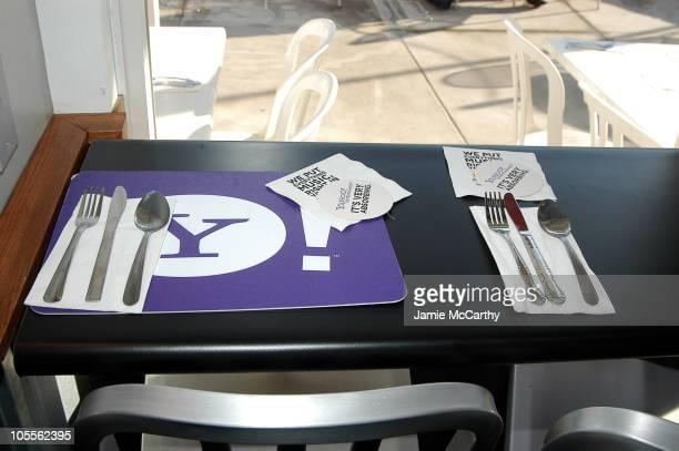 Atmosphere at Cafe Yahoo at Village at the Lift Park City Utah