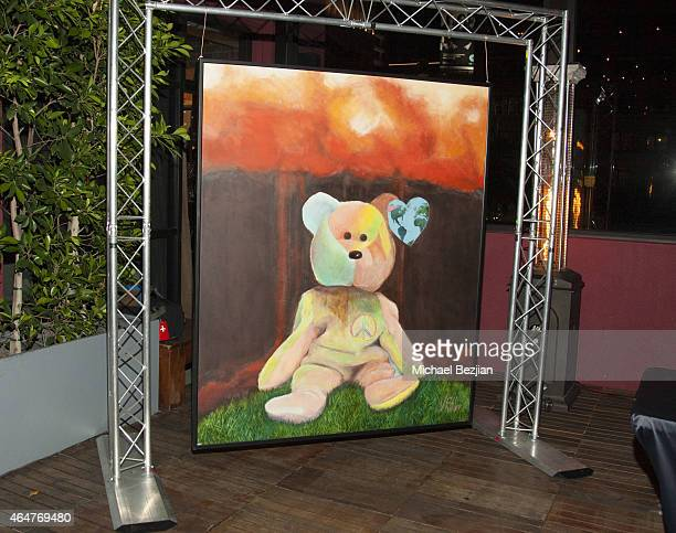 Atmosphere at Caroline Burt DJs At Victoria Fuller's The Beauty Code Art Show at The Redbury Hotel on February 25 2015 in Hollywood California