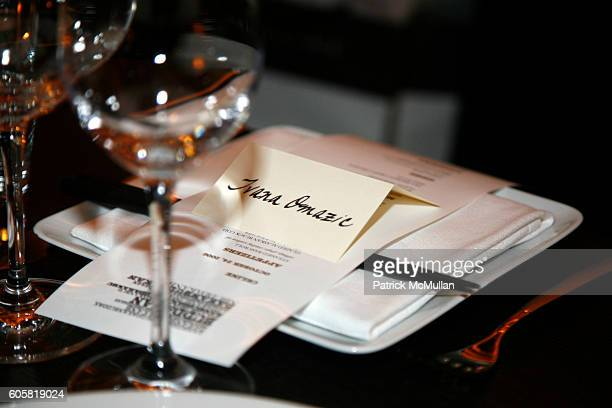 Atmosphere at CELINE Dinner in Honor of Creative Director Ivana Omazic at Buddakan on October 24 2006 in New York City