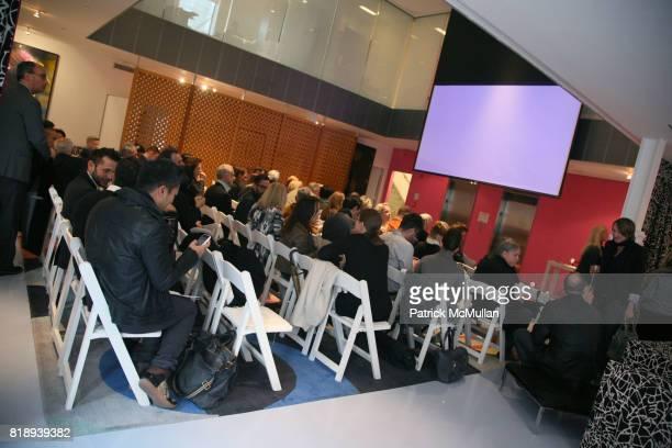 Atmosphere at CFDA biannual membership meeting at Diane von Furstenberg Studio on May 11, 2010 in New York City.