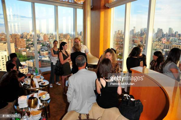 Atmosphere at CHARLOTTE SARKOZY hosts celebration of BARBARA BUI's visit to New York at the Boom Boom Room at the Standard Hotel on June 21st 2010 in...