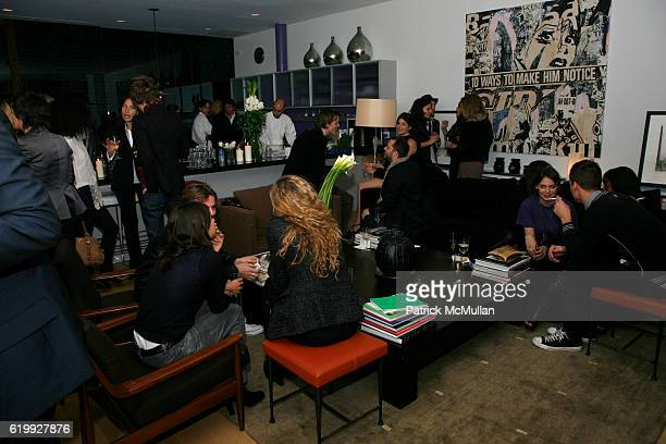 Atmosphere at CHARLOTTE SARKOZY hosts cocktails in honor of BARBARA BUI at Private Residence on October 30 2008 in New York City