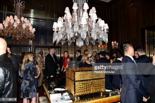 Atmosphere at Christopher R King Debuts New Luxury Brand CCCXXXIII at Baccarat Hotel on June 5 2018 in New York City