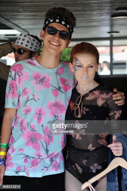 Atmosphere at Coachella 'Desert Jam' presented by Lucky NYLON at the ARRIVE Hotel on April 14 2018 in Palm Springs California