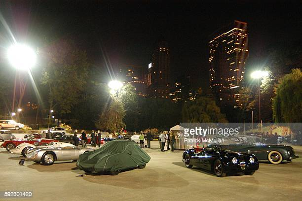 Atmosphere at Cocktail Party Celebrating The Inaugural New York City Concours d'Elegance at Wollman Rink on September 29 2005 in New York City