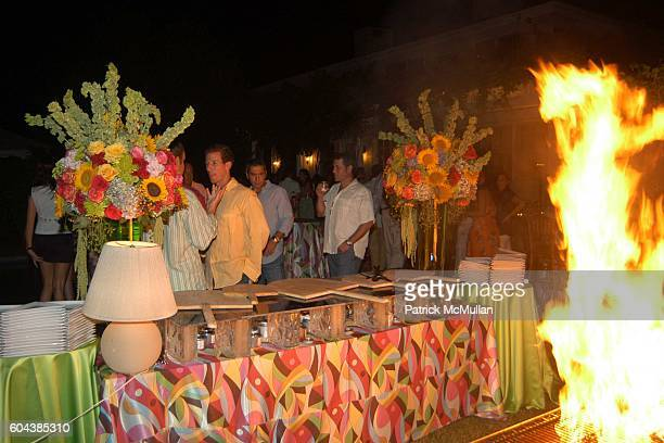 Atmosphere at Cocktail Party With Steven Schonfeld Celebrating Mindy Greenblatt's Birthday at Watermill on August 19 2006
