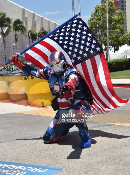 Atmosphere at Comic Con in San Diego July 19 the fan convention that brings 130000 visitors a year to spend four days catching up on the latest...