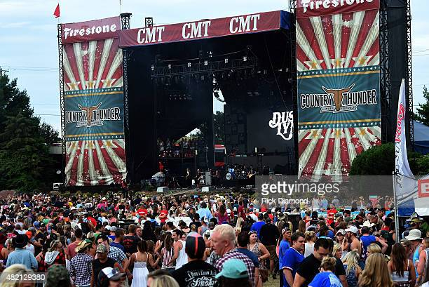 Atmosphere at Country Thunder Day 4 In Twin Lakes Wisconsin on July 26 2015 in Twin Lakes Wisconsin