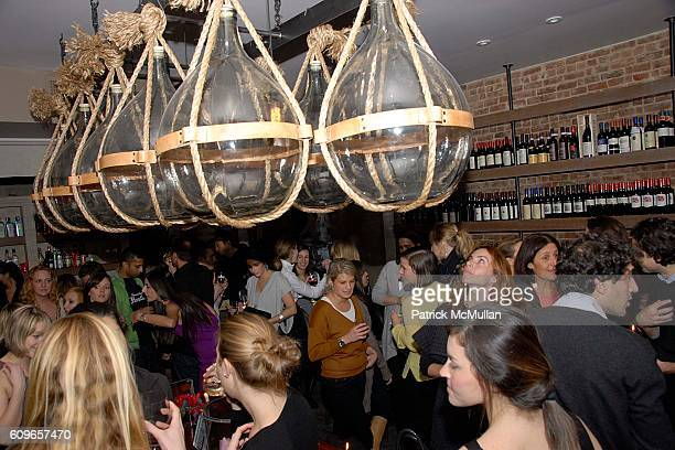 Atmosphere at COUP de COEUR Celebrates the Holidays with Shopping and Cocktails at FELICE WINE BAR at FELICE Wine Bar 1166 First Ave on December 11...