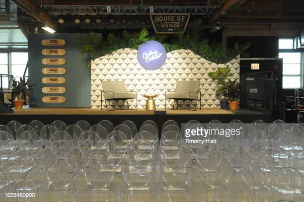 Atmosphere at Create Cultivate conference at the House of Vans with partners include Microsoft Teams JC Penney McDonalds and Comcast NBC Universal on...