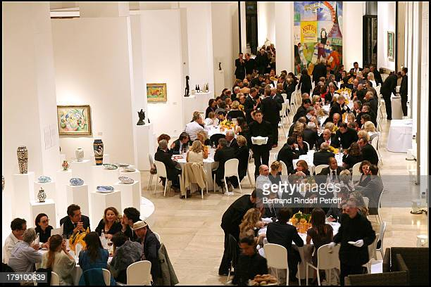 Atmosphere at Dinner Gala and Exhibition Of 'Deadline' At Musee D'Art Moderne De La Ville De Paris