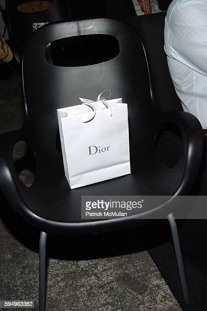 Atmosphere at DIOR THE CINEMA SOCIETY present a screening of Hart Sharp Entertainment Miramax Films' Proof at 165 Charles St on September 14 2005 in...