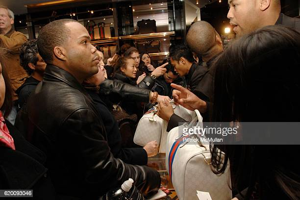 Atmosphere at DONALD TRUMP Joins GUCCI for Ribbon Cutting of the FIFTH AVENUE FLAGSHIP GUCCI STORE at Gucci on February 8 2008 in New York City