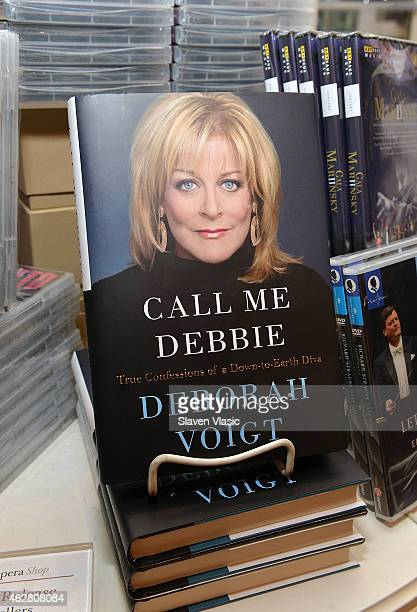 Atmosphere at dramatic soprano Deborah Voigt's book signing of her memoir 'Call Me Debbie True Confessions of a DowntoEarth Diva' at The Metropolitan...