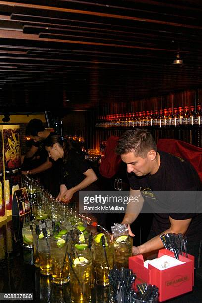 Atmosphere at Drambuie Den Event with Special Guest Heather Vandeven at Level V on October 22 2007 in New York