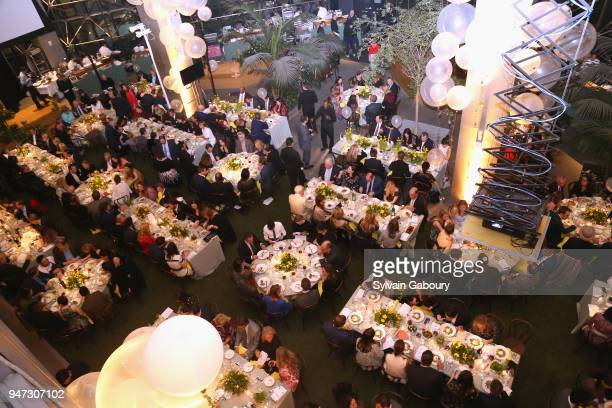 Atmosphere at Edible Schoolyard NYC 2018 Spring Benefit at 180 Maiden Lane on April 16 2018 in New York City