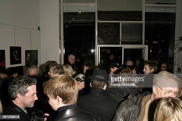 Atmosphere at Edie Sedgwick Unseen Photographs of a Warhol Superstar Opening Reception Hosted by Misha Sedgwick at Gallagher's Art and Fashion...