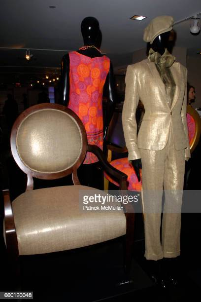 Atmosphere at ELLE DECOR and BLOOMINGDALE'S Celebrate Reopening of Furniture Department With Auction Benefitting CFDA at Bloomingdale's on January 28...