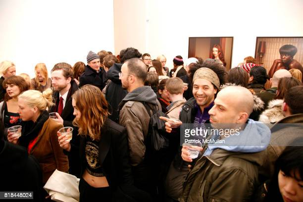 Atmosphere at ERWIN OLAF Opening Reception at Hasted Hunt Kraeutler on January 28 2010 in New York