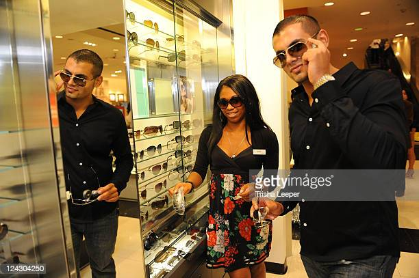 Atmosphere at Fashion's Night Out celebration at Macy's Union Square on September 8 2011 in San Francisco California