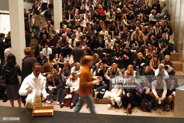 Atmosphere at FONDAZIONE PRADA Hosts a Screening of GREAT NEW WONDERFUL with Director Danny Leiner for The Tribeca Film Festival at PRADA on April 28...