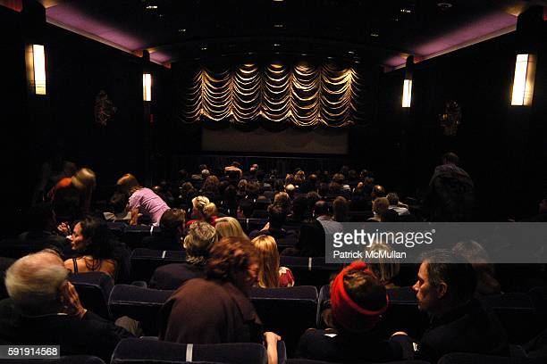 Atmosphere at Good Night and Good Luck Screening at MGM Screening Room on October 6 2005 in New York City