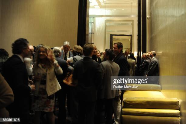 Atmosphere at Gwyneth Paltrow and VBH's Bruce Hoeksema Host Cocktail Party for Valentino The Last Emperor at VBH on October 27 2009 in New York City