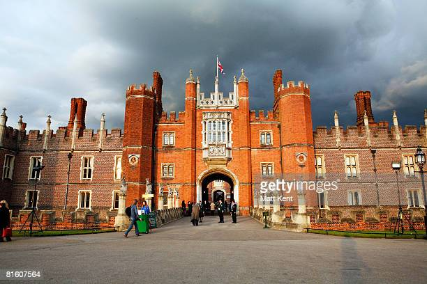 Atmosphere at Hampton Court Palace where Katherine Jenkins performed at The Hampton Court Palace Festival 2008 on June 17, 2008 in...