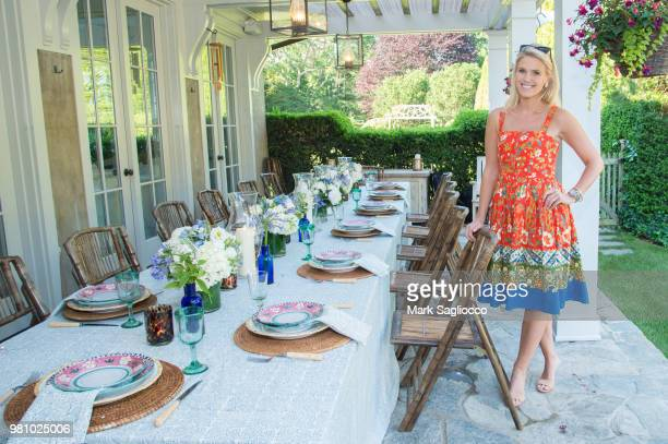 Atmosphere at Hamptons Magazine and Sotheby's Present Great Hosts Of The Hamptons on June 21 2018 in East Hampton New York